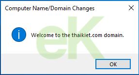Hướng dẫn Join Domain trên Windows 10
